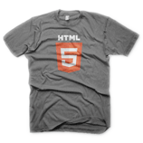Men's Athletic Heather HTML5 Shirt Front