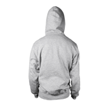 HEATHER GREY HOODIE Back