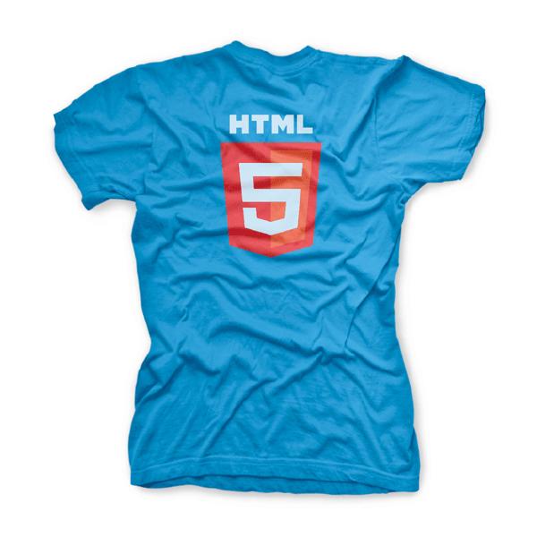 HTML5 Logo T-shirts