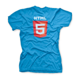 Women's HTML5 Shirt Back